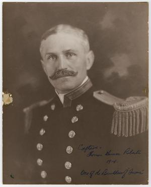 Primary view of object titled '[Portrait of Captain Thomas Roberts]'.