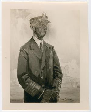 Primary view of object titled '[An Art Print of Admiral Frank Hermon Schofield]'.