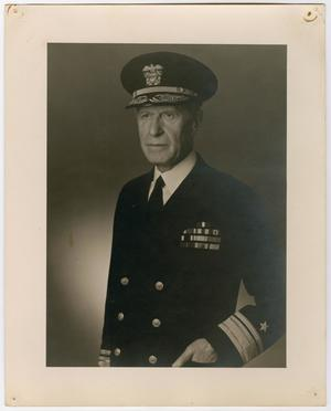 Primary view of object titled '[Portrait of Rear Admiral Lamar Richard Leahy]'.