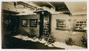 Primary view of object titled '[Photograph of Christmas Decorations on the U.S.S. Texas]'.