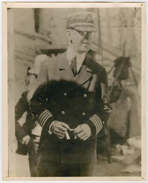 Primary view of object titled '[Photograph of Captain Andre Morton Proctor]'.