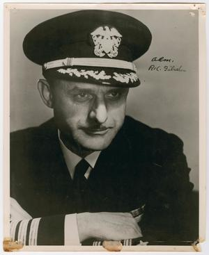Primary view of object titled '[Portrait of Admiral P. K. Fischler]'.