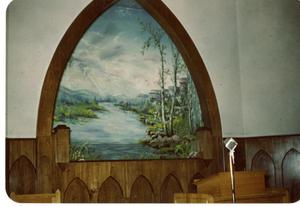 Primary view of object titled '[Baptistry Painting in Corsicana, Texas #3]'.