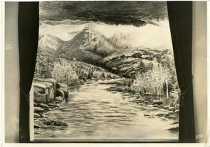 Primary view of object titled '[Blanche Perry Painting for Denver, Colorado #4]'.