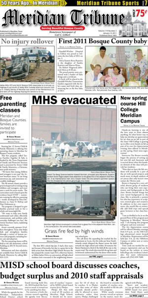 Meridian Tribune (Meridian, Tex.), Vol. 119, No. 2, Ed. 1 Wednesday, January 12, 2011