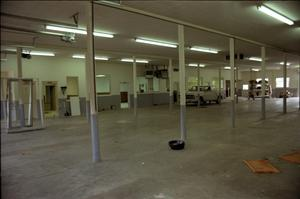 Primary view of object titled '[New Hereford Fire Station Garage]'.