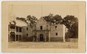 Primary view of object titled '[The Alamo, San Antonio, Texas]'.