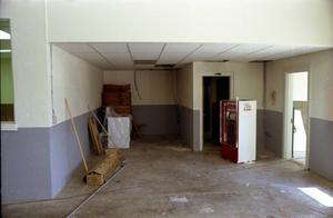 Primary view of object titled '[Interior of the New Hereford Fire Station]'.