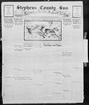 Primary view of object titled 'Stephens County Sun (Breckenridge, Tex.), Vol. 4, No. 48, Ed. 1, Thursday, December 21, 1933'.