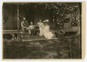 [Photograph of Henry Clay's Family on the Porch]