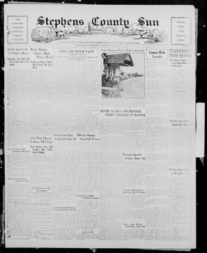Primary view of object titled 'Stephens County Sun (Breckenridge, Tex.), Vol. 6, No. 8, Ed. 1, Friday, June 7, 1935'.