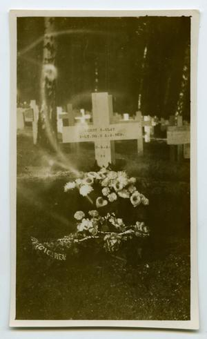 [Photograph of Henry Clay, Jr.'s Grave]