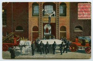 [Postcard of an Amsterdam Fire Department Rescue]