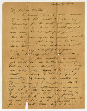 Primary view of object titled '[Letter from Henry Clay, Jr. to his Mother Harriett]'.
