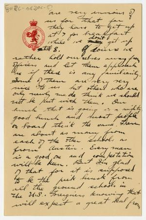 Primary view of object titled '[Letter from Henry Clay, Jr. to his Mother]'.