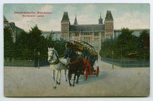 [Postcard of Dutch Firemen]