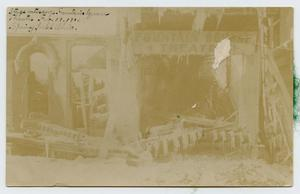 Primary view of object titled '[Postcard from Gus Brown to George Pendexter, February 27, 1912]'.