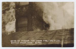 Primary view of object titled '[Postcard from W. B. Johnston to George Pendexter, February 5, 1912]'.