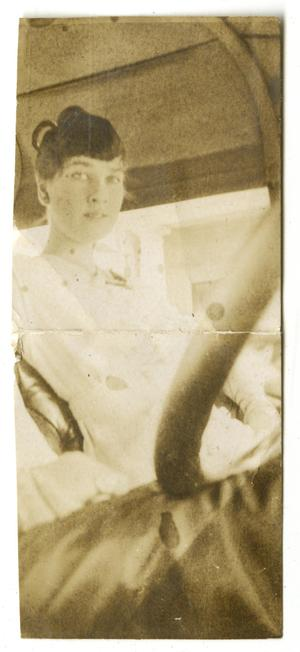Primary view of object titled '[Photograph of Mamie McFaddin]'.