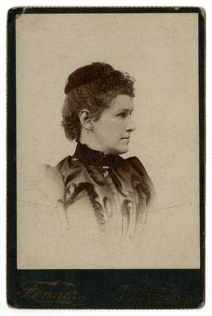 Primary view of object titled '[Portrait of Mary O'Bannon Smith Caldwell]'.