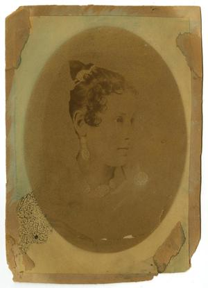 Primary view of object titled '[Portrait of Lula Smith Campbell]'.