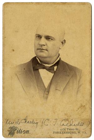 Primary view of object titled '[Portrait of Charles T. Caldwell]'.