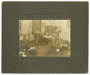 Primary view of object titled '[Photograph of James Lewis Caldwell in Office]'.