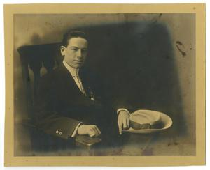 Primary view of object titled '[Portrait of Smith Caldwell]'.