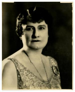 [Portrait of Ida Caldwell McFaddin]