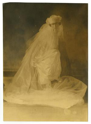 Primary view of object titled '[Bridal Portrait of Mamie McFaddin Ward]'.