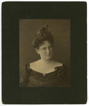 Primary view of object titled '[Portrait of Ida Caldwell McFaddin]'.