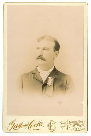 Primary view of object titled '[Portrait of William Perry Herring McFaddin]'.