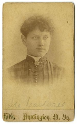 Primary view of object titled '[Portrait of Ida Caldwell]'.