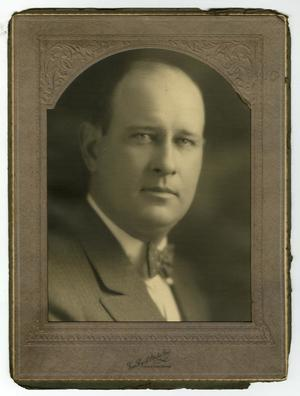 Primary view of object titled '[Portrait of William Perry Herring McFaddin, Jr.]'.