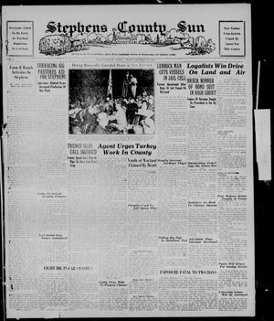 Primary view of object titled 'Stephens County Sun (Breckenridge, Tex.), Vol. 7, No. 17, Ed. 1, Friday, October 30, 1936'.