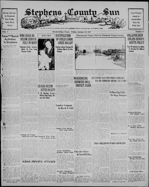 Stephens County Sun (Breckenridge, Tex.), Vol. 7, No. 29, Ed. 1, Friday, January 22, 1937