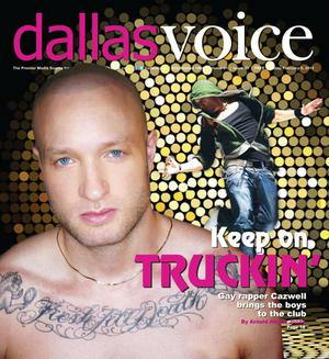 Primary view of object titled 'Dallas Voice (Dallas, Tex.), Vol. 31, No. 39, Ed. 1 Friday, February 6, 2015'.