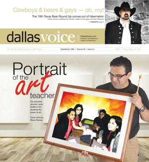 Primary view of object titled 'Dallas Voice (Dallas, Tex.), Vol. 30, No. 44, Ed. 1 Friday, March 14, 2014'.