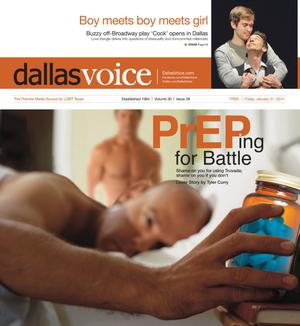 Primary view of object titled 'Dallas Voice (Dallas, Tex.), Vol. 30, No. 38, Ed. 1 Friday, January 31, 2014'.