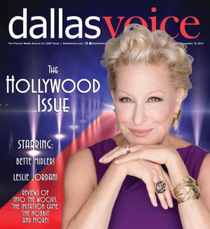 Primary view of object titled 'Dallas Voice (Dallas, Tex.), Vol. 31, No. 32, Ed. 1 Friday, December 19, 2014'.