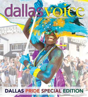Primary view of object titled 'Dallas Voice (Dallas, Tex.), Vol. 31, No. 19, Ed. 1 Friday, September 19, 2014'.