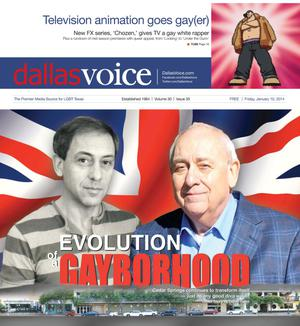 Primary view of object titled 'Dallas Voice (Dallas, Tex.), Vol. 30, No. 35, Ed. 1 Friday, January 10, 2014'.