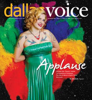 Primary view of object titled 'Dallas Voice (Dallas, Tex.), Vol. 31, No. 14, Ed. 1 Friday, August 15, 2014'.