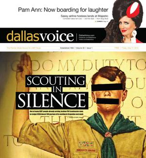 Primary view of object titled 'Dallas Voice (Dallas, Tex.), Vol. 30, No. 1, Ed. 1 Friday, May 17, 2013'.
