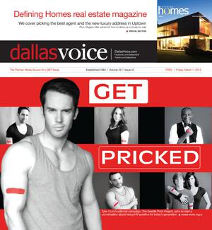 Primary view of object titled 'Dallas Voice (Dallas, Tex.), Vol. 29, No. 42, Ed. 1 Friday, March 1, 2013'.