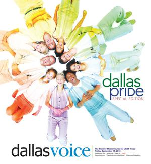 Primary view of object titled 'Dallas Voice (Dallas, Tex.), Vol. 30, No. 18, Ed. 1 Friday, September 13, 2013'.