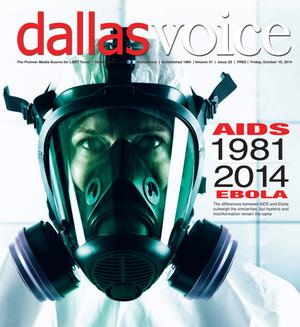 Primary view of object titled 'Dallas Voice (Dallas, Tex.), Vol. 31, No. 22, Ed. 1 Friday, October 10, 2014'.