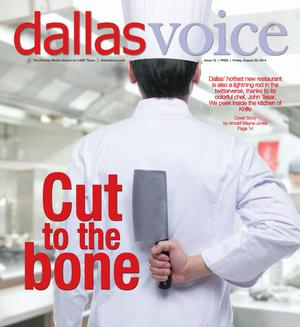 Primary view of object titled 'Dallas Voice (Dallas, Tex.), Vol. 31, No. 15, Ed. 1 Friday, August 22, 2014'.