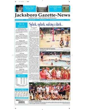 Primary view of object titled 'Jacksboro Gazette-News (Jacksboro, Tex.), Vol. 134, No. 9, Ed. 1 Tuesday, July 30, 2013'.