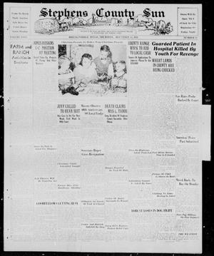 Primary view of object titled 'Stephens County Sun (Breckenridge, Tex.), Vol. 9, No. 23, Ed. 1, Thursday, December 15, 1938'.